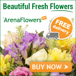 arena letterbox flowers by post